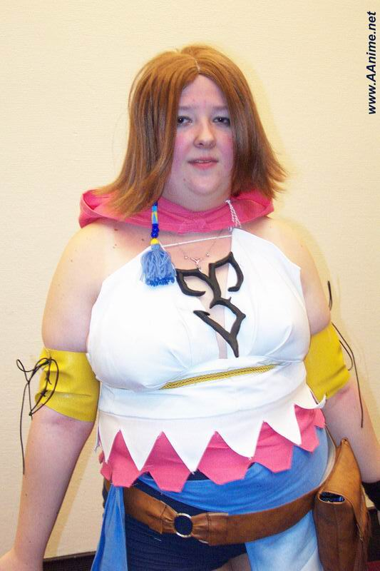 Yuna cosplay sexy